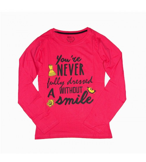 Older Girls Long Sleeve Printed T Shirt