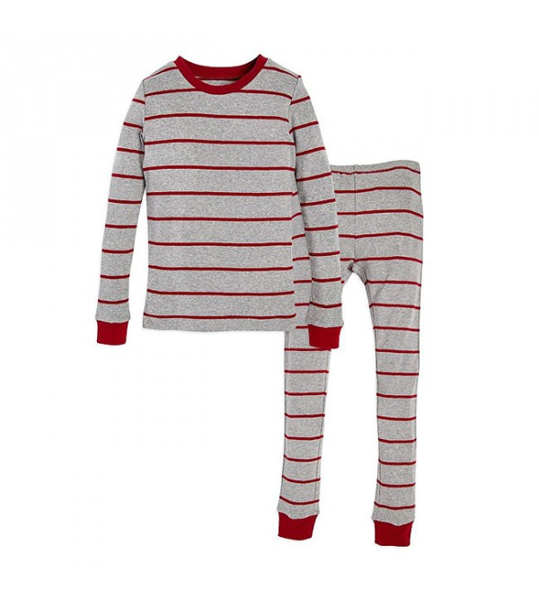 Boys and Girls Printed n Striped Snug Fit Pyjama Sets