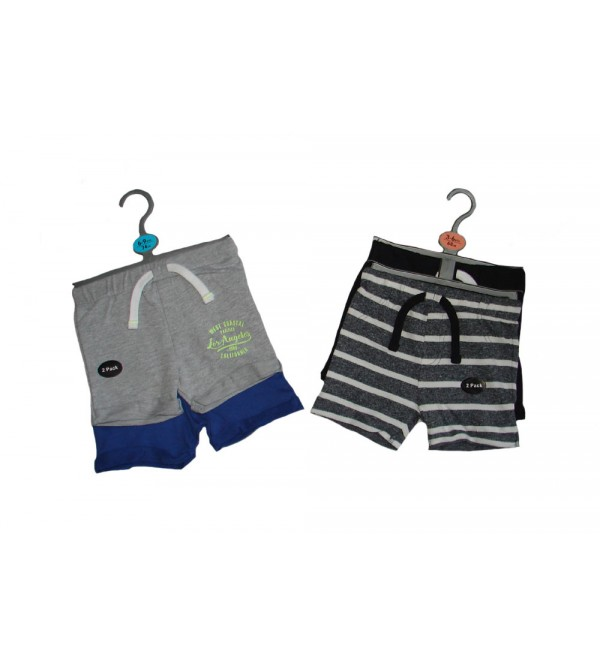 Baby Boys Shorts 2 pcs Hanger Packs