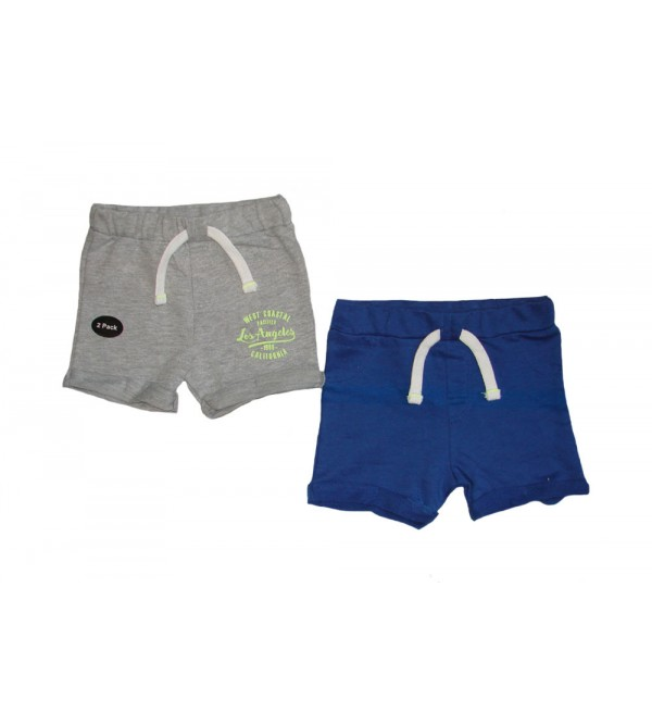 Baby Boys Shorts 2 pcs Hanger Pack