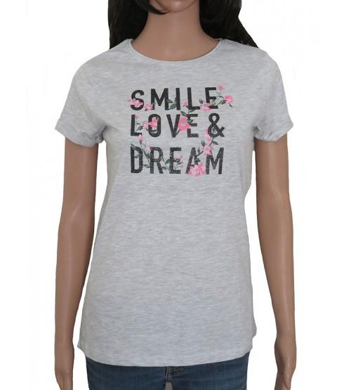 Older Girls Short Sleeve Printed T Shirt