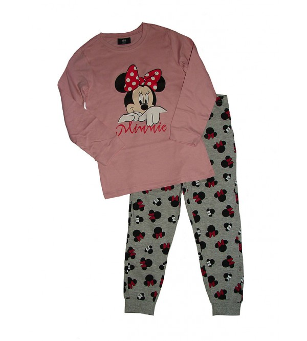 MICKEY MOUSE Girls Printed Pyjama Set