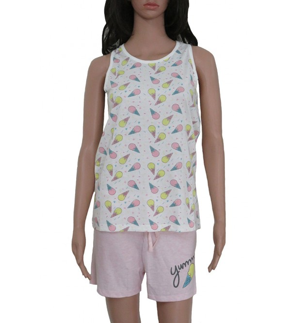 MAX Older Girls Printed Shorty Pyjama Set