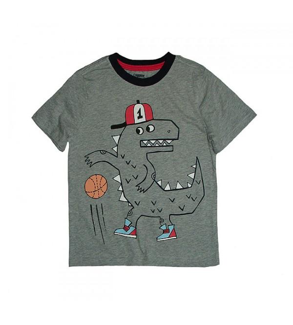 Epic Threads Dinosaur-Print T-Shirt