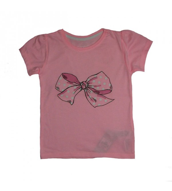 Baby Girls Bow Printed Top
