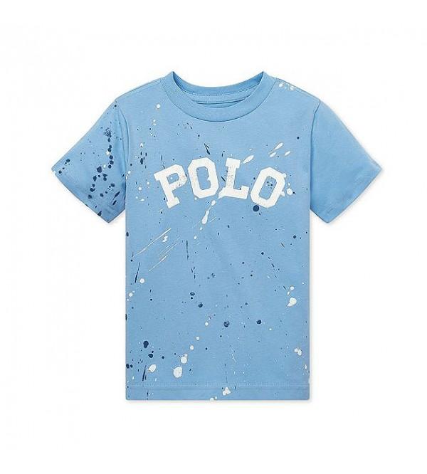 Polo Ralph Lauren Boy's Paint-Splatter Cotton Tee