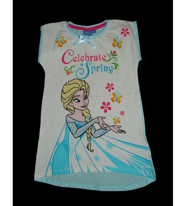 Celebrate Spring Girls Glitter Printed T-Shirt