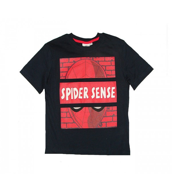 SPIDERMAN Boys Short Sleeve Printed T Shirt