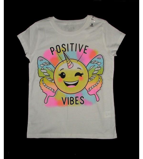 Positive Vibes Girls T-Shirt