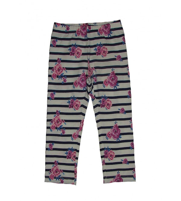 Girls Stretch Printed Leggings
