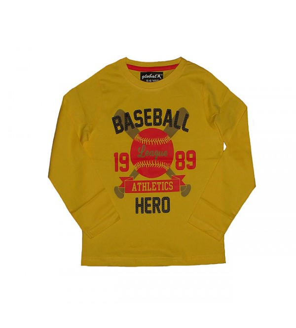 Baseball Hero Boys T Shirt