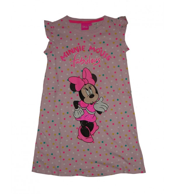DiSNEY Girls Glitter Printed Short Dress
