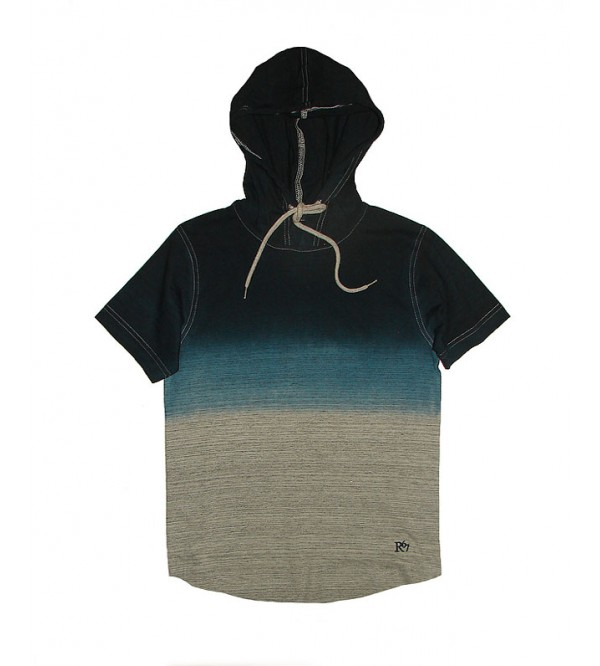 Older Boys Dip Dyed T Shirt With Hoodie