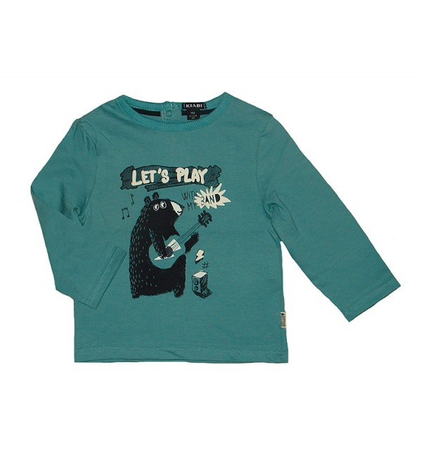 Baby Boys Long Sleeve Printed Winter T Shirts