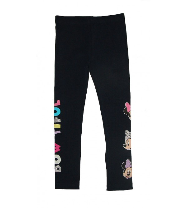 Disney Girls Multihued Glitter Print lEggings