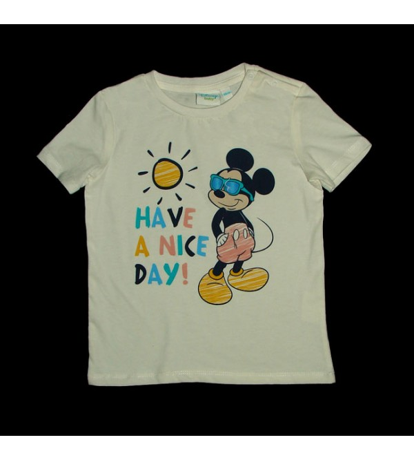 DiSNEY Baby Boys Short Sleeve Printed T Shirt