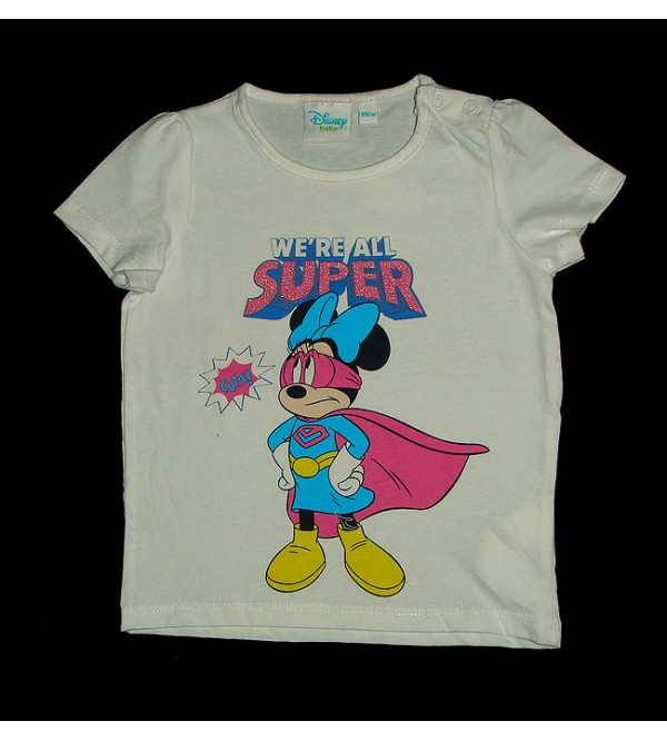 DiSNEY Baby Girls Short Sleeve Printed Top