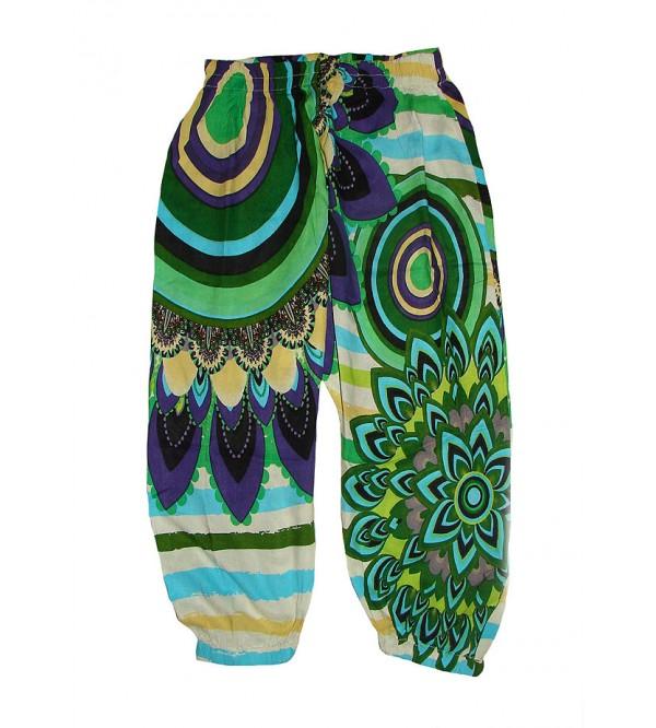 Desigual Girls Printed Viscose Woven Harem Pant