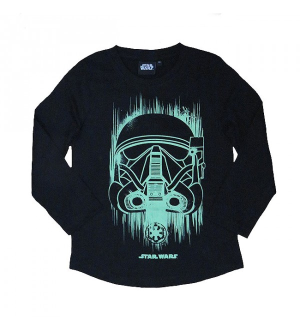 STAR WARS Boys Long Sleeve Printed T Shirt