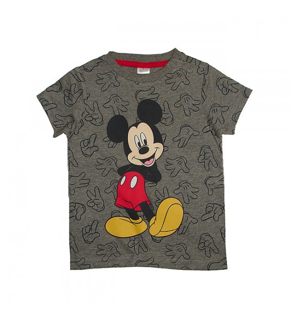 Mickey Mouse Baby Boys Short Sleeve Printed T Shirt