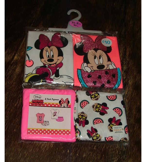 Fruit Minnie Girls Shorty Sets