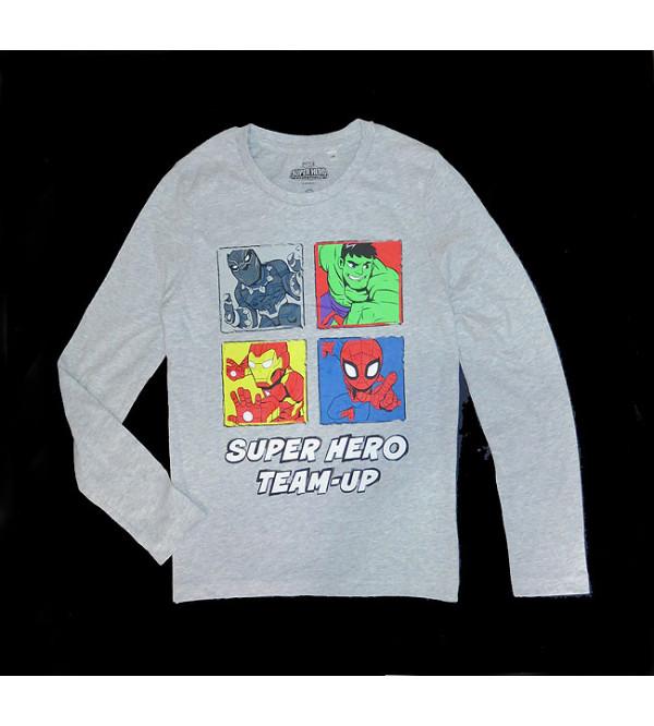 Marvel Character Printed Boys T Shirt