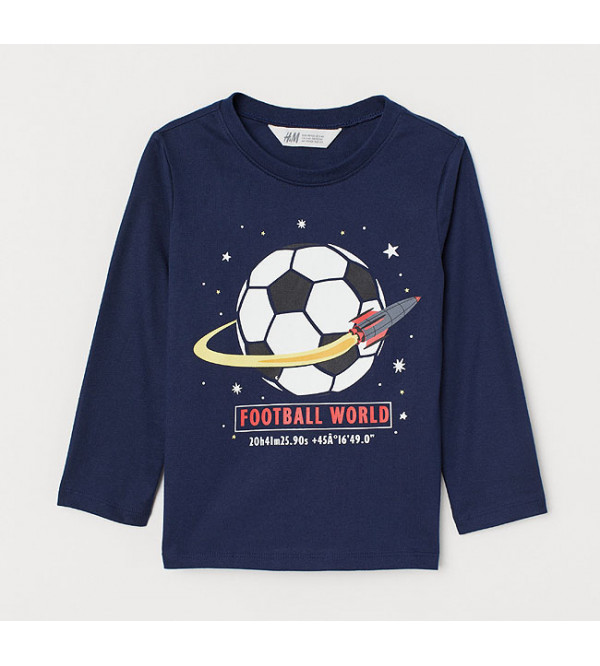 FOOT BALL PRINTED BOYS T SHIRT
