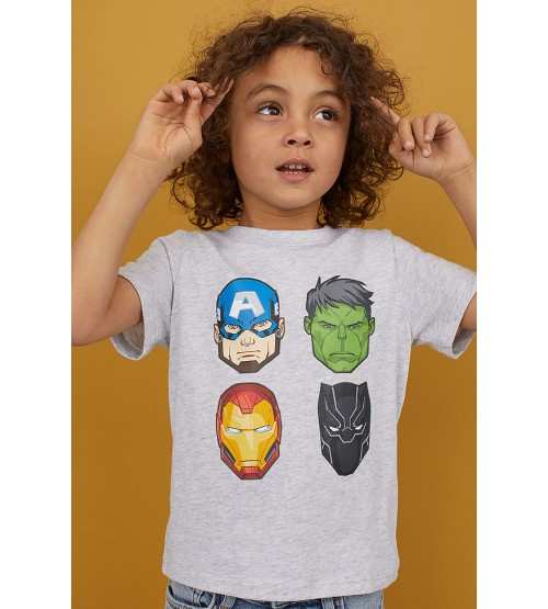 H&M Marvel Boys T Shirt