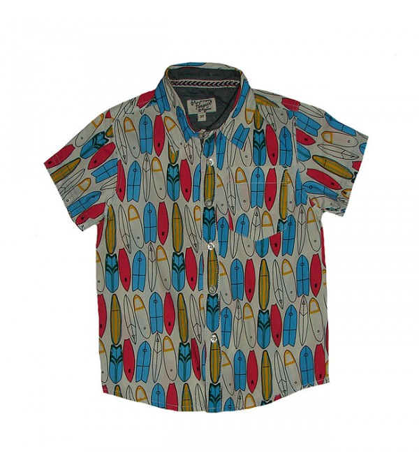 Boys Woven Fancy Shirt