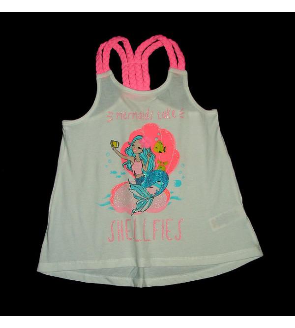 Shellfies Girls Fancy Sequinned T Shirt