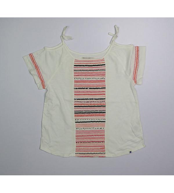 Lucky Brand Girls Printed T Shirt. Assorted