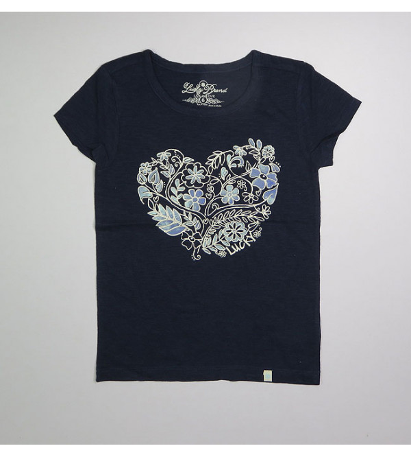 Lucky Brand Girls Printed T Shirt. Assorted