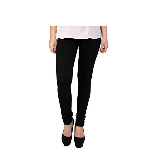 ' L ' Size Ladies Stretch Churidar Leggings