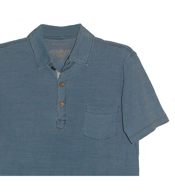 Mens  Polo (Washed)