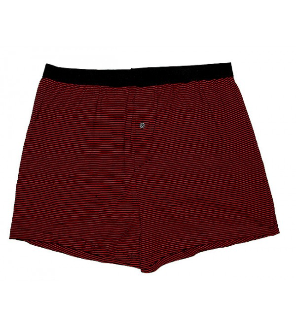 Mens Striped Boxer Shorts
