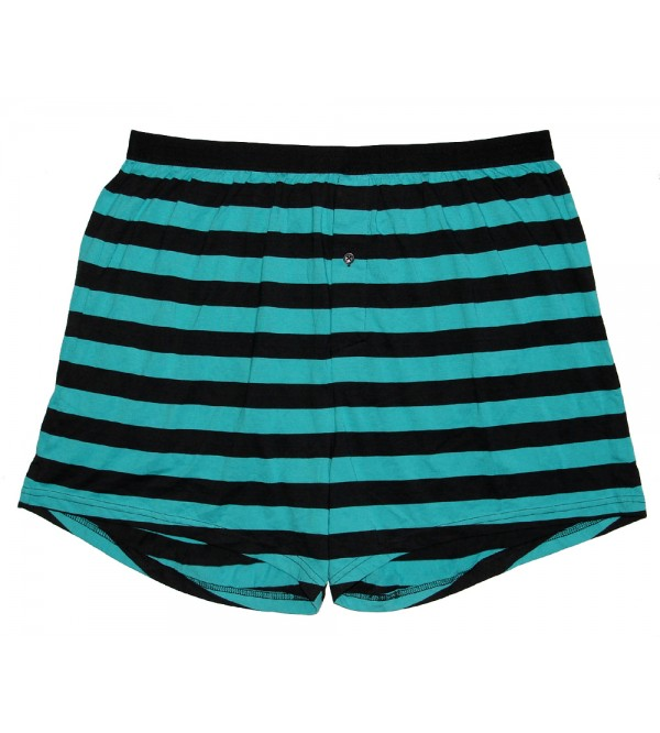 Mens Striped Boxer Shorts