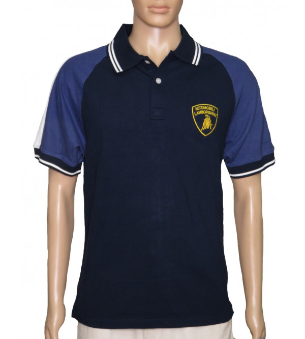 Lamborghini Mens Fancy Polo