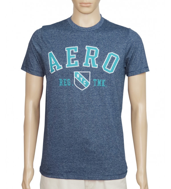 Aeropostale Men's Printed T Shirts With Applique
