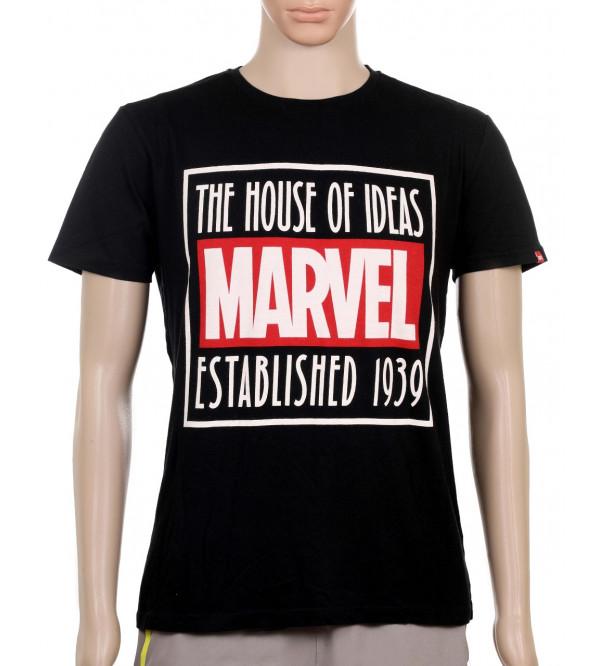 MARVEL Mens Printed T Shirt
