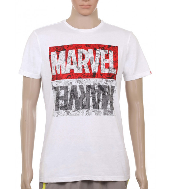 MARVEL Mens Printed T Shirt