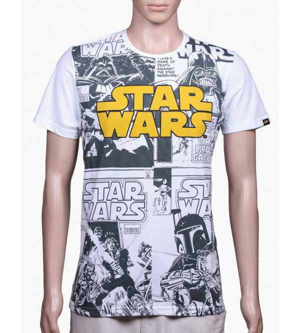 STAR WARS Printed Mens  T Shirt