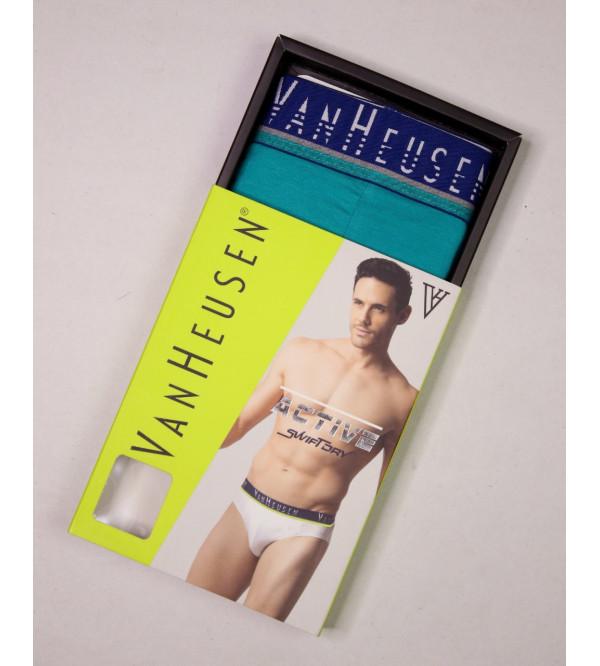 Van Heusen Mens Cotton Briefs Box Packaged