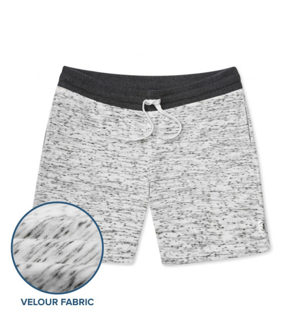 Mens Super Soft Velour Shorts