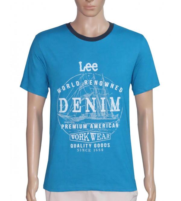 Lee Mens Printed T Shirt