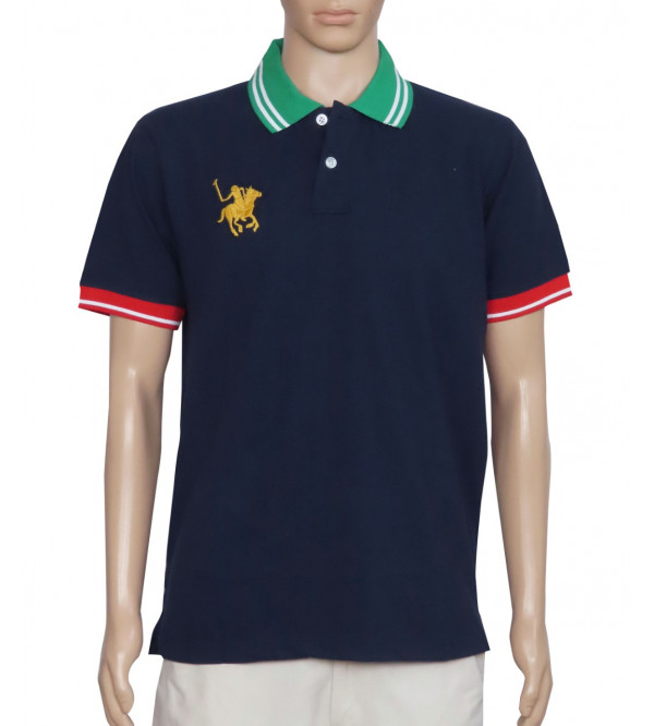 Mens Fancy Polo With Embroidery