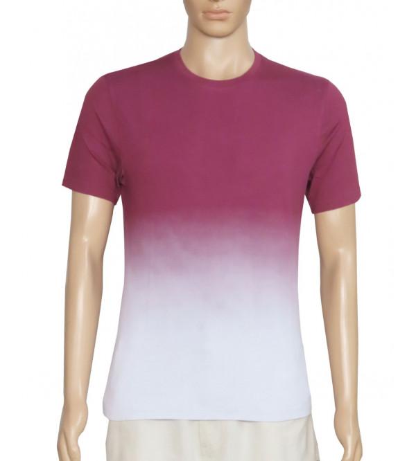 Mens Dip Dyed T Shirt