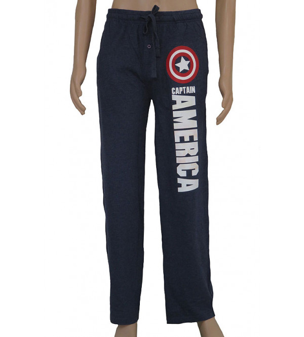 MARVEL BRAND Mens Printed Night Pants
