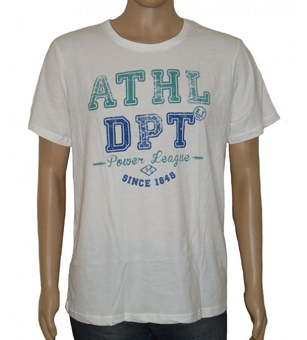 Mens V and Round Neck Printed T Shirt