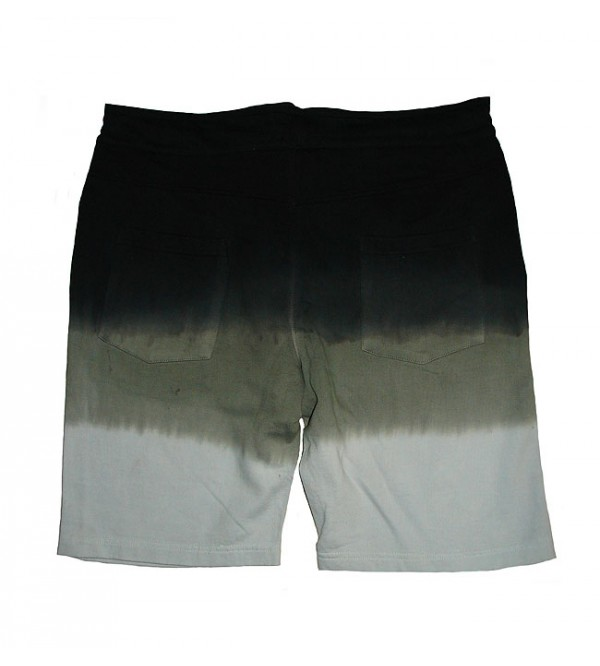 Mens Garment Dyed Knit Shorts (French Terry)
