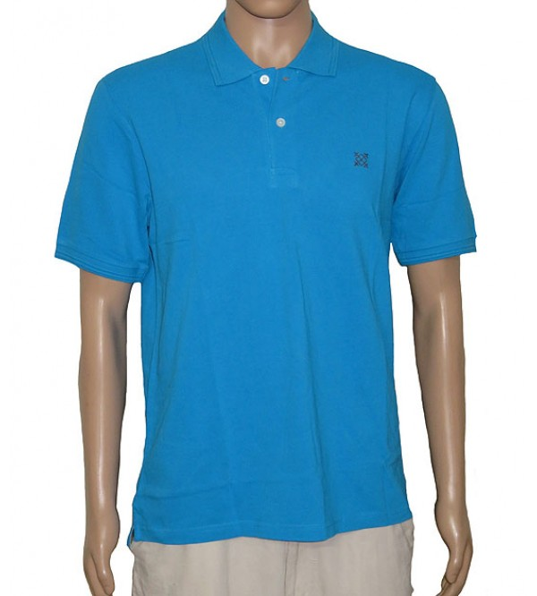 Mens Pique Polo (Washed)